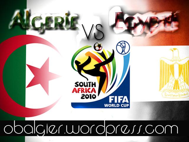 Algerie vs egypte